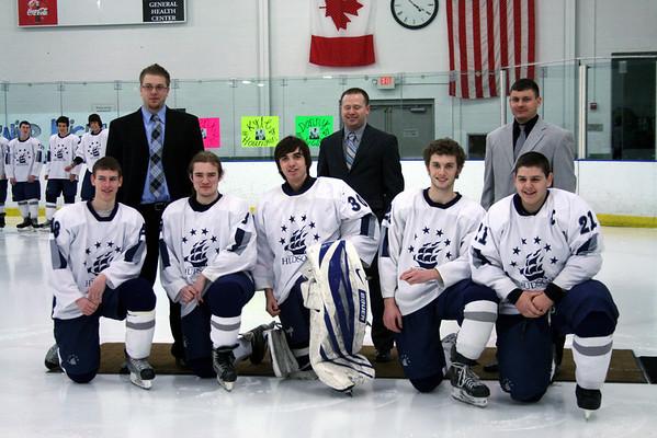 HHS Hockey Vs Holy Name (LG) _ Senior Night 2-06-2011