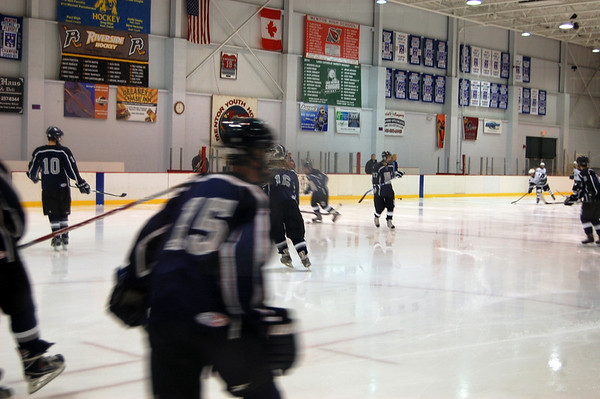 HHS JV Hockey vs Lake Catholic - Dec 5