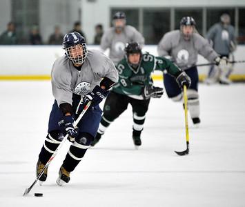 KEN HHS Hockey Scrimmage vs Strongsville