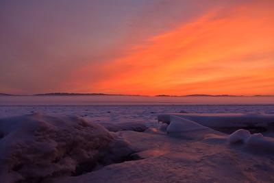 Winter's Magic on the Hudson