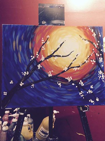 2016 Fundraiser - Sip and Paint - Pinot Palette Nanuet - 10/25/16