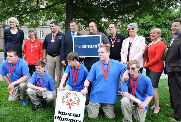 Announcement - 2019 & 2020 Special Olympics NY State Summer Games will be in Dutchess County, NY - Poughkeepsie, NY - Press Conference 6/5/18