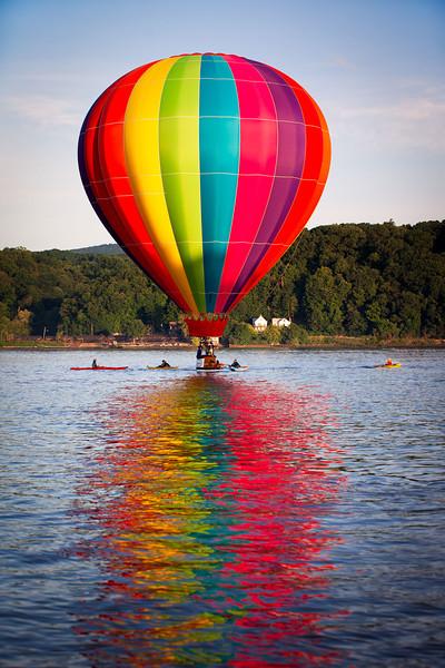 Hudson River Balloon