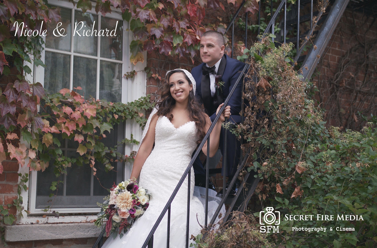 Nicole and Richards Hudson Valley Wedding Video At Villa Barone Hilltop Manor New York