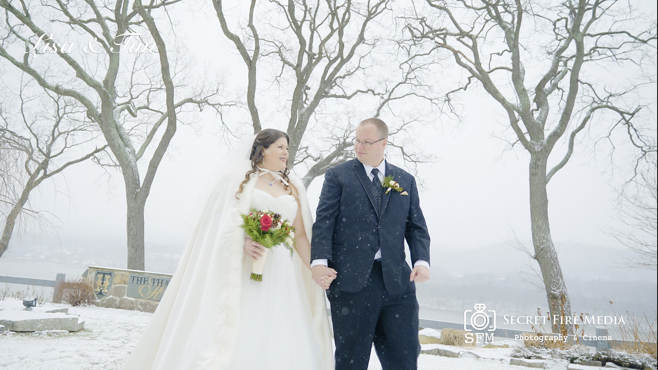 Lisa and Tims Hudson Valley Wedding Video At The Thayer Hotel in West Point New York