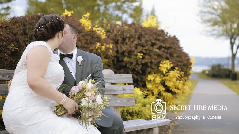 Howard and Elizabeths Hudson Valley Wedding Video At The View On The Hudson In Piermont New York