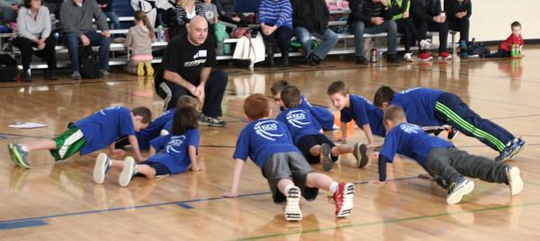 Kids Basketball - 2014