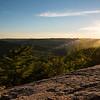 Sunset over Palisades Park