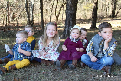 Huey family Grandchildren