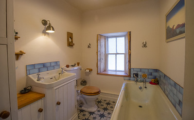 Bathroom tiles and woodwork 1