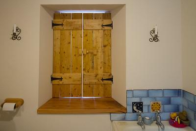 Bathroom tiles and woodwork 2