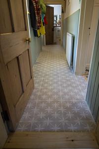 Tiles in corridor