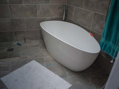 Bathroom  tiling and plumbing 1