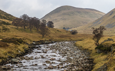 River Findhorn close to its source