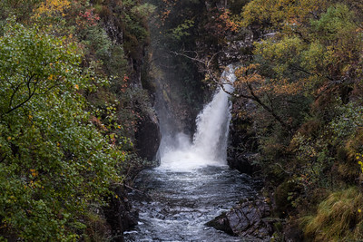 Waterfall of Abhain Coire Mhic Nobuil