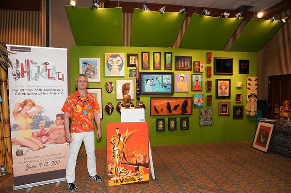 The Harold Golen Gallery-Commodore Ballroom-Tiki Treasures Bazaar