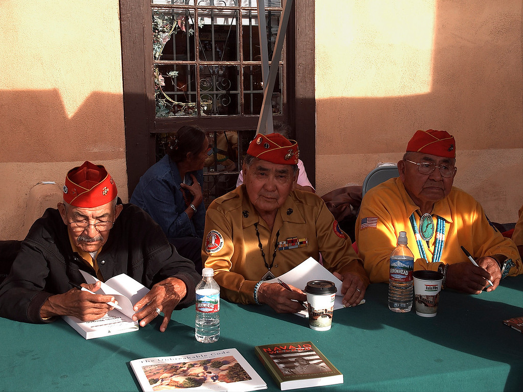 Navaho Code Talkers from WWII
