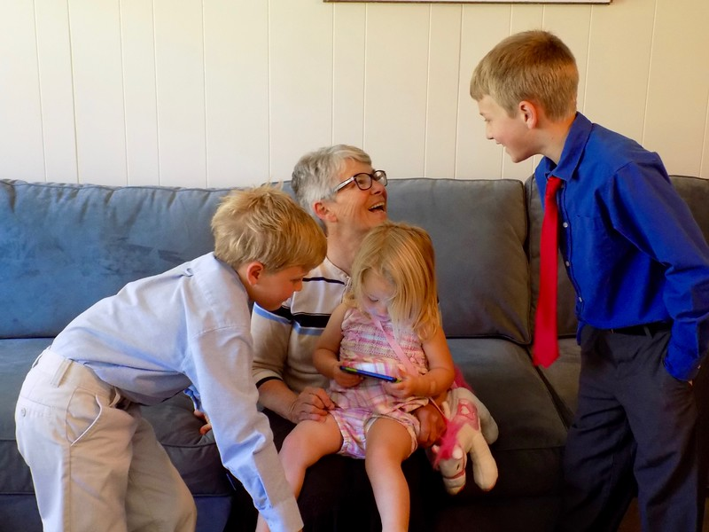 Fun with grandkids