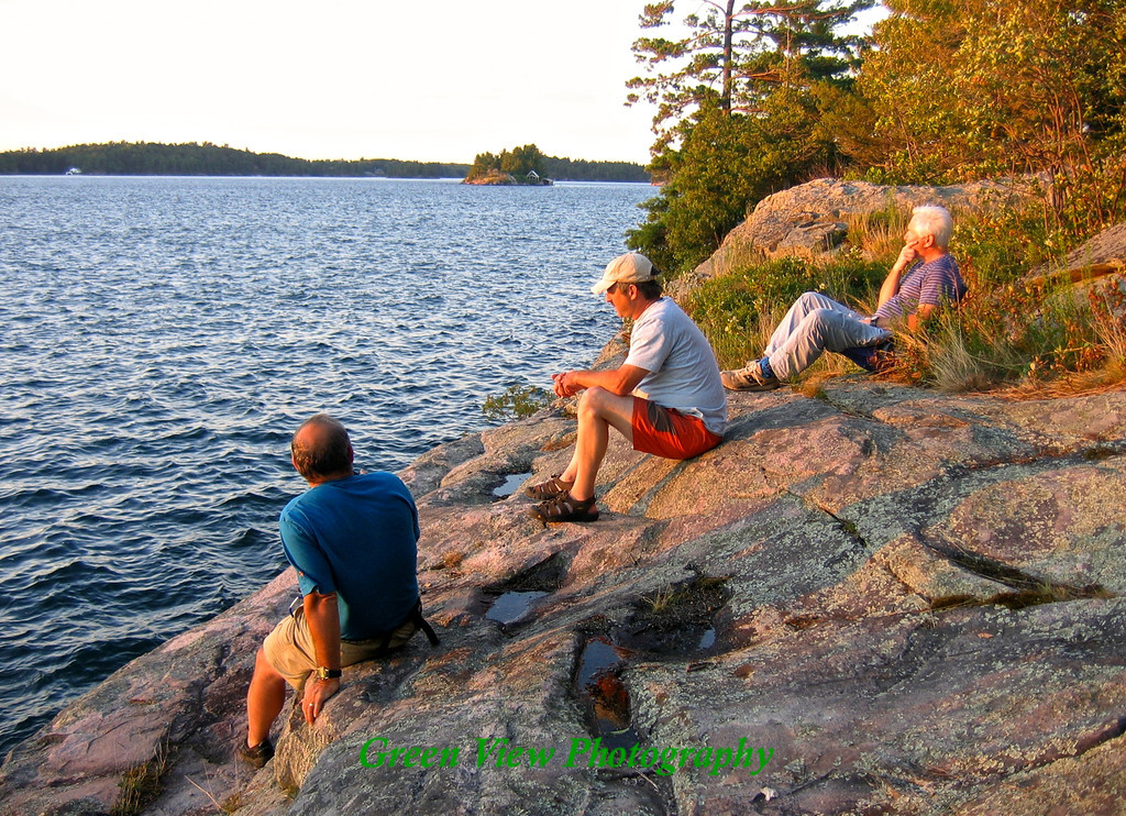 Waiting for sunset in Thousand Islands