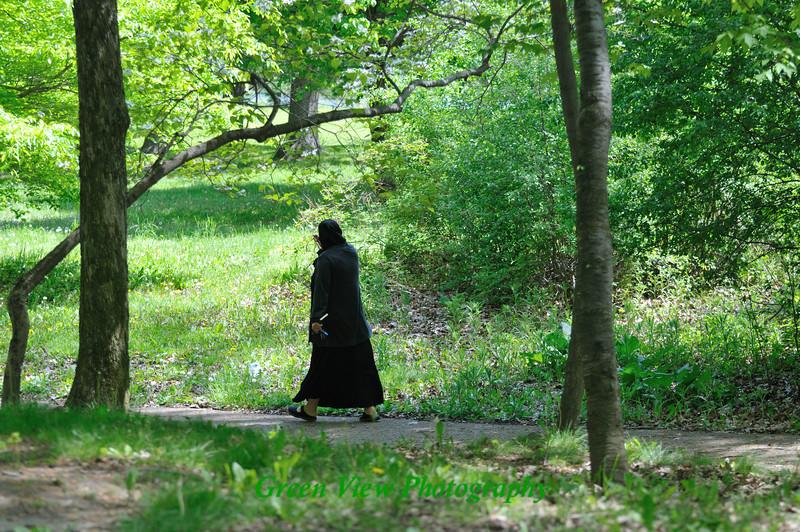 Morning stroll in Seneca Park