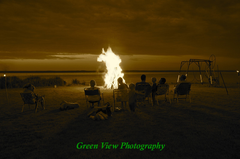 Bon Fire at Oneida Lake