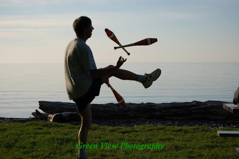Juggling at Webster Park