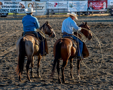 Clallam County Fair Rodeo, Washington State, 2015