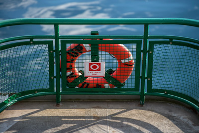 Bouy Ring, Washington State Ferry