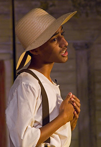 Tom Sawyer in Middle School Production