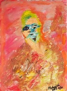 """""""HOPE"""" (acrylic on canvas) by Dee Bullmann"""