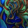 """Forsaken"" (acrylic) by Kathryn Miles"