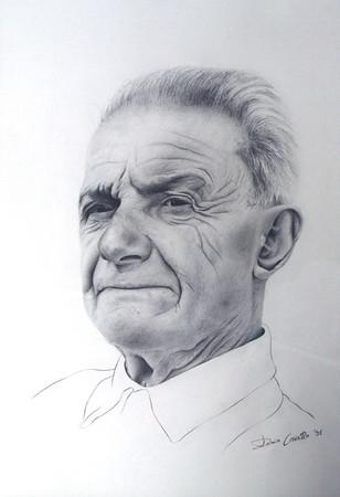 """""""Giovanni"""" (pencil on paper) by Dario Cavallo"""