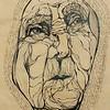"""Sapience"" (liquid ink rolling ball pen) by Olga Doronina"