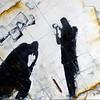 """Difficult days"" (oil on canvas) by Olga Kurzanova"