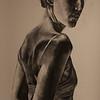 """Disorder, Panel I, Image I"" (charcoal & gesso original, digital reproduction) by Elise Economy"