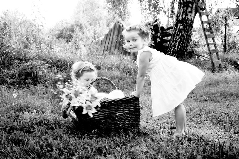 """Rustic childhood"" (photography) by Olga Bokova"
