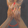 """Confirmation"" (acrylic) by Tricia Hoye"