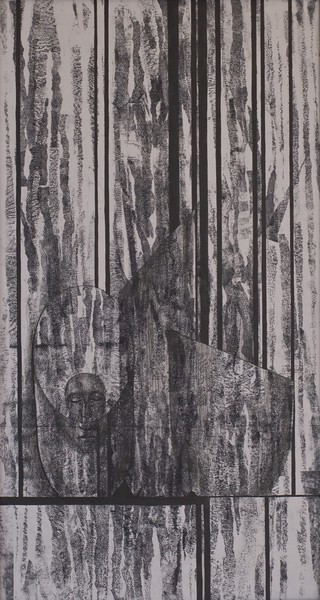 """Dryads"" (pencil, ink) by Julia Rockina"