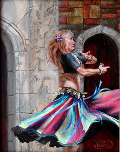 """The Dance"" (oil) by Debra Keirce"