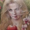 """Temptation"" (colored pencil) by Tatyana Juice"