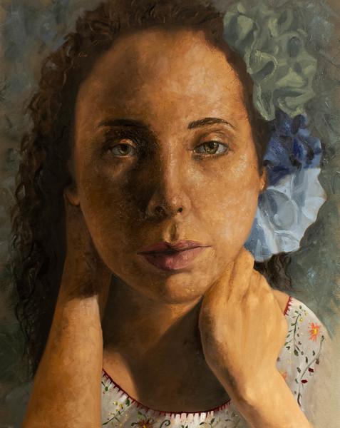 """""""Maria Elena"""" (oil) byFrida Cornelio"""