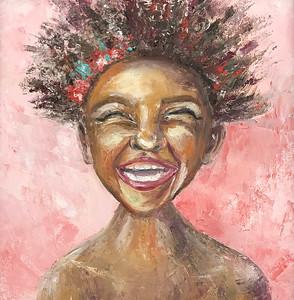 """Joy"" (oil on canvas) by Inna Vetrova"