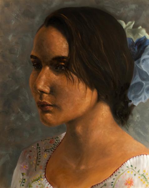 """""""Maria"""" (oil) byFrida Cornelio"""