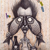 """Friday fish"" (watercolor, ink) by Arseniy Nikitin"