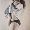 """Mother love"" (oil on canvas) by Yulia Prutskova"
