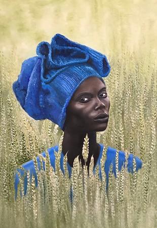 """Look of the savannah"" (oil) by Margarita Duykova"