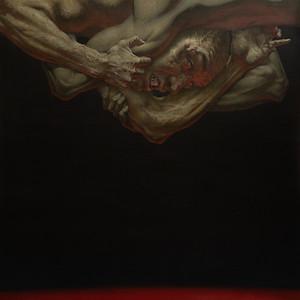 """The Struggle"" (oil on canvs) by Maxim Korolkov"