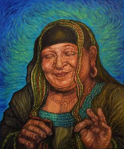 """Presence"" (oil on canvas) by Lori Fredricks"