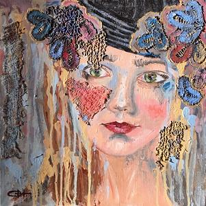 """""""Spring"""" (oil on canvas) by Olesya Novikova"""