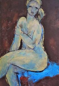 """""""Solo"""" (acrylic, oil, mixed media on canvas) by Irina Limanova by"""
